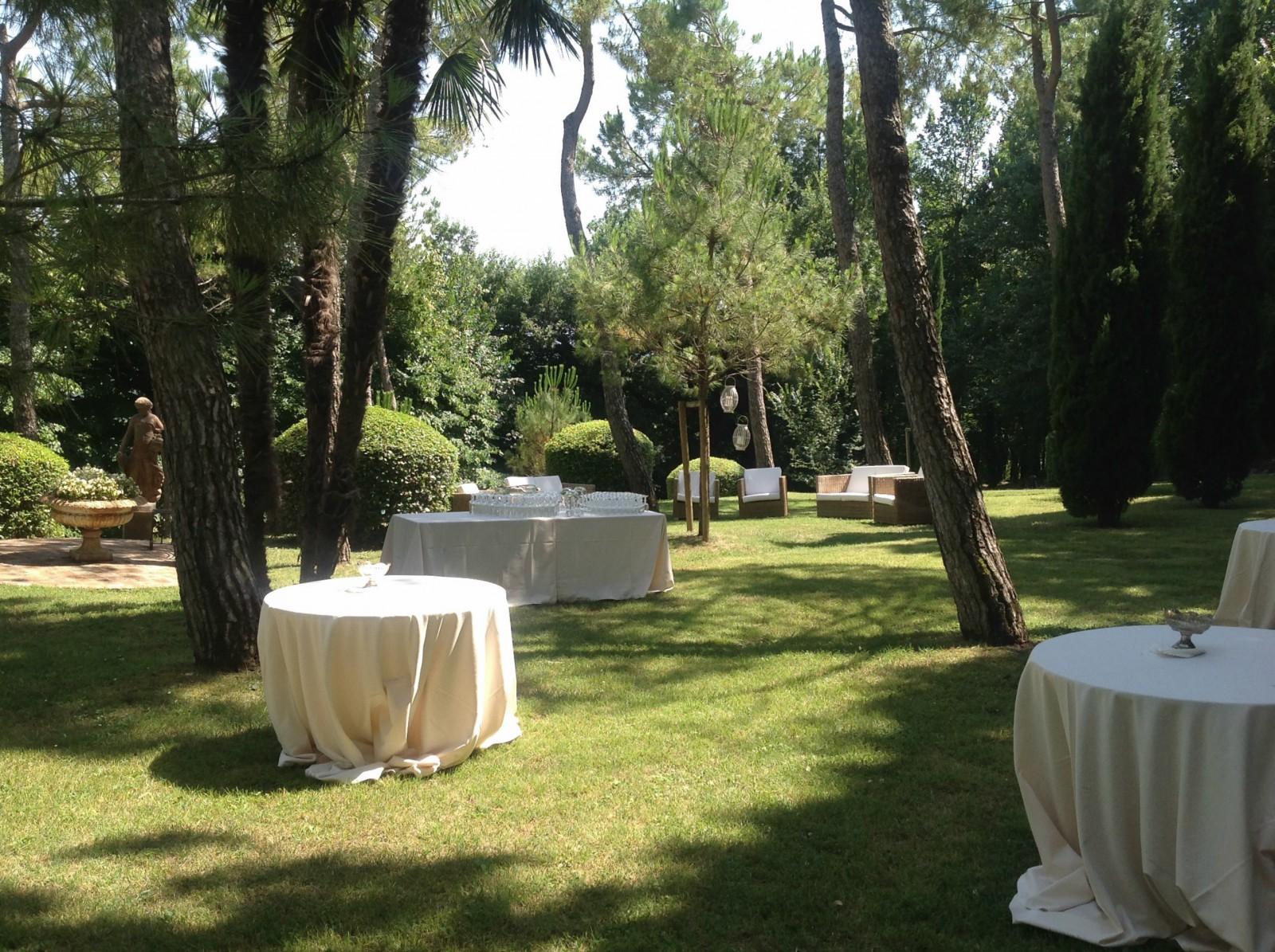aperitivo giardino