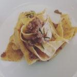 catering cerinella in toscana - pappardelle di farina integrale al ragù bianco di capriolo - Copia (2)