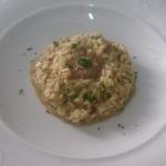 catering cerinella in toscana - risotto ai porcini con cuore di fegatini di pollo - Copia