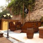 giardino dei pirati Grand Hotel savoia genova